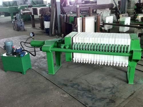 Semi stainless Filter Press
