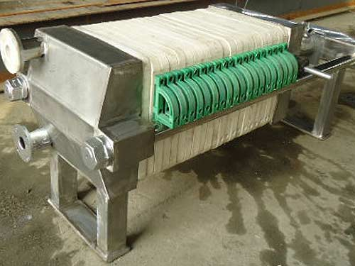 Semi Stainless Steel Filter Press