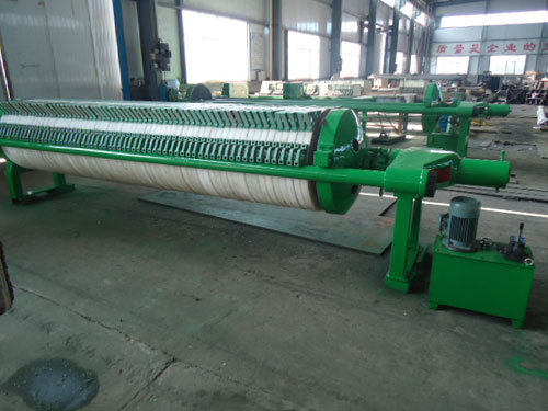 Circular filter press for Africa customer